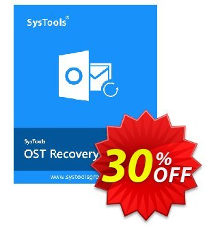 RecoveryPro OST to PST Converter Coupon, discount SysTools coupon 36906. Promotion: SysTools promotion codes 36906