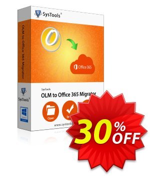 SysTools OLM to Office 365 (Multi-user) Coupon discount SysTools Frozen Winters Sale - Impressive offer code of SysTools OLM to Office 365 2019