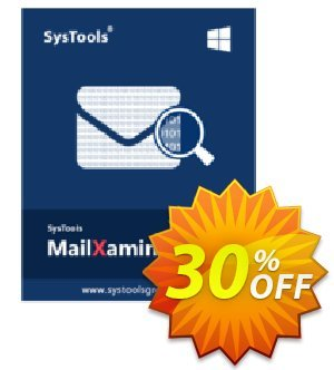 MailXaminer (SMS) Coupon discount SysTools Product: MailXaminer SMS Awful sales code 2020. Promotion: Awful sales code of SysTools Product: MailXaminer SMS 2020