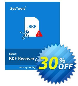 SysTools BKF Repair (Business License) discount coupon SysTools coupon 36906 -