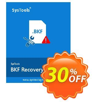 SysTools BKF Repair (Business License) Coupon, discount SysTools coupon 36906. Promotion: