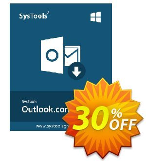 SysTools Outlook.com Backup 優惠券,折扣碼 SysTools Spring Offer,促銷代碼: Big deals code of SysTools Outlook.com Backup 2021