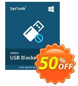 SysTools USB Blocker (Business) Coupon discount SysTools coupon 36906. Promotion: