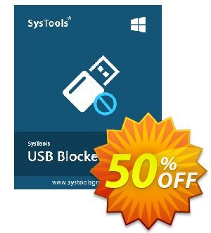 SysTools USB Blocker (Enterprise) Coupon, discount SysTools coupon 36906. Promotion: