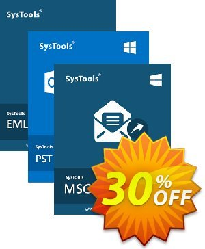 Bundle Offer - SysTools MSG Converter + PST Converter + EML Converter discount coupon SysTools Pre-Summer Offer - Awesome sales code of Bundle Offer - SysTools MSG Converter + PST Converter + EML Converter 2020