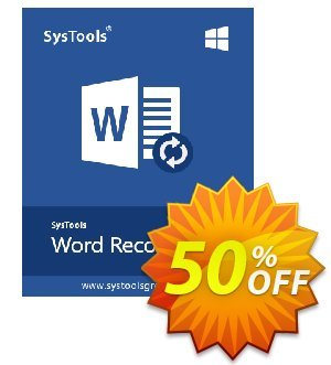 SysTools Word Repair割引コード・SysTools coupon 36906 キャンペーン: