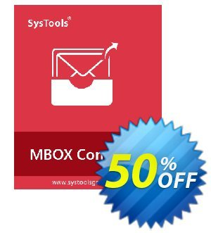 Systools MBOX Converter (Business License) 優惠券,折扣碼 SysTools coupon 36906,促銷代碼: