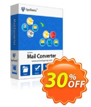 SysTools Mail Converter - Site License  할인