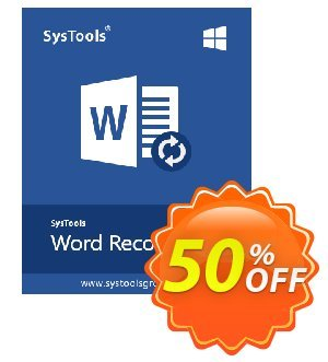 SysTools Word Repair (Enterprise) discount coupon SysTools coupon 36906 -