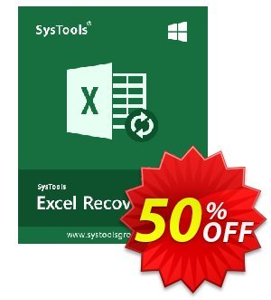 SysTools Excel Recovery (Business License) 프로모션 코드 SysTools coupon 36906 프로모션: