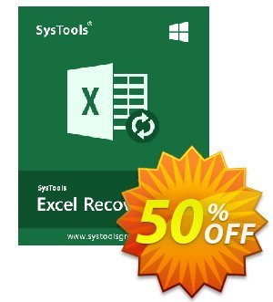 SysTools Excel Recovery (Enterprise License) discount coupon SysTools coupon 36906 -