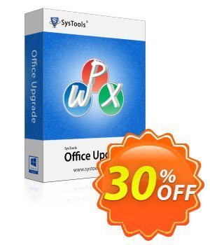 SysTools Office Upgrade (Enterprise) 優惠券,折扣碼 SysTools coupon 36906,促銷代碼: