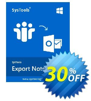 SysTools Export Notes - NSF to PST Converter (Multi-user)  할인
