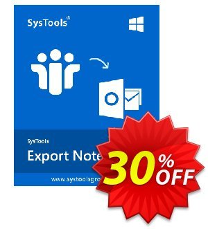 SysTools Export Notes - NSF to PST Converter (Multi-user) 促销