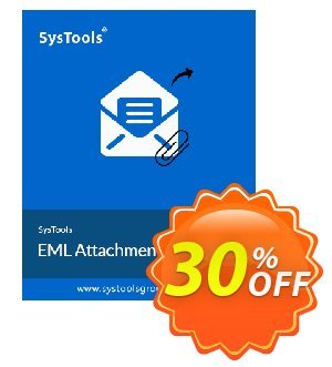 SysTools Mac EML Attachment Extractor Coupon, discount 30% OFF SysTools Mac EML Attachment Extractor, verified. Promotion: Awful sales code of SysTools Mac EML Attachment Extractor, tested & approved