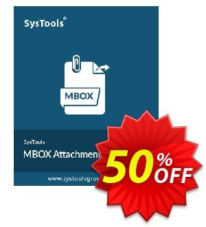 SysTools Mac MBOX Attachment Extractor discount coupon 50% OFF SysTools Mac MBOX Attachment Extractor, verified - Awful sales code of SysTools Mac MBOX Attachment Extractor, tested & approved