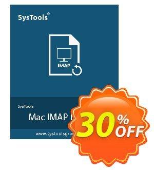 SysTools Mac IMAP Backup Coupon, discount 30% OFF SysTools Mac IMAP Backup, verified. Promotion: Awful sales code of SysTools Mac IMAP Backup, tested & approved
