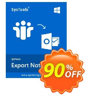 SysTools Export Notes - NSF to PST Converter (Enterprise) discount coupon BitsDuJour Daily Deal -