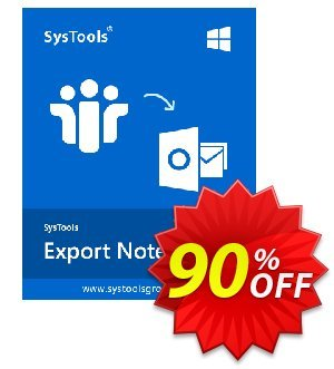 SysTools Export Notes - NSF to PST Converter (Enterprise) 優惠券,折扣碼 BitsDuJour Daily Deal,促銷代碼: