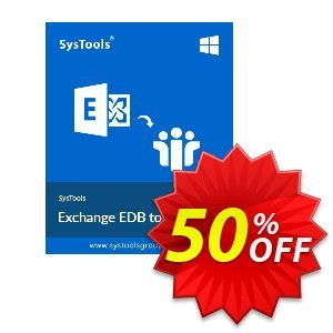 SysTools Exchange EDB to NSF Converter (Business) 프로모션 코드 SysTools coupon 36906 프로모션: