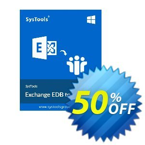 SysTools Exchange EDB to NSF Converter (Enterprise)割引コード・SysTools coupon 36906 キャンペーン: