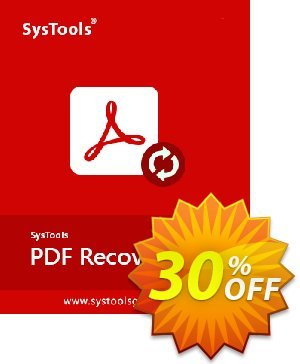 SysTools Mac PDF Recovery (Enterprise License) discount coupon 30% OFF SysTools Mac PDF Recovery (Enterprise License), verified - Awful sales code of SysTools Mac PDF Recovery (Enterprise License), tested & approved