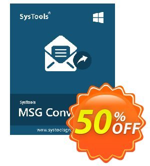 SysTools MSG to EML Converter (Enterprise License) 折扣