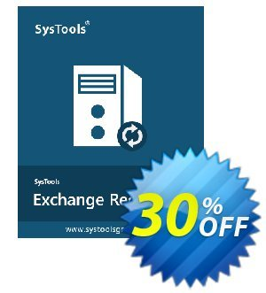 Get SysTools Exchange Recovery 25% OFF coupon code