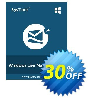 SysTools Windows Live Mail Converter (Enterprise) Coupon, discount SysTools coupon 36906. Promotion:
