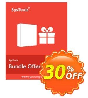 Bundle Offer - Windows Live Mail Converter + DBX Converter [Enterprise License] Coupon, discount SysTools coupon 36906. Promotion: