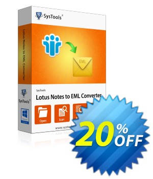 Notes Contacts to Outlook Express - Business License Coupon, discount SysTools coupon 36906. Promotion: