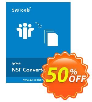 NSF Converter - Personal License Coupon, discount SysTools coupon 36906. Promotion: