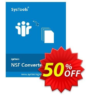 NSF Converter - Business License Coupon, discount SysTools coupon 36906. Promotion: