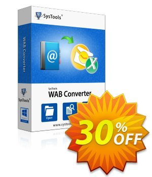 WAB Converter - Business License Coupon, discount SysTools coupon 36906. Promotion: