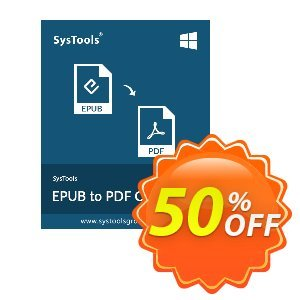 SysTools EPUB to PDF Converter Coupon discount SysTools Summer Sale. Promotion: