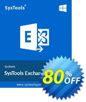 Exchange Import - 50 to 100 Users License Coupon, discount SysTools coupon 36906. Promotion: