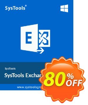 Exchange Import - 100 to 200 Users License Coupon, discount SysTools coupon 36906. Promotion: