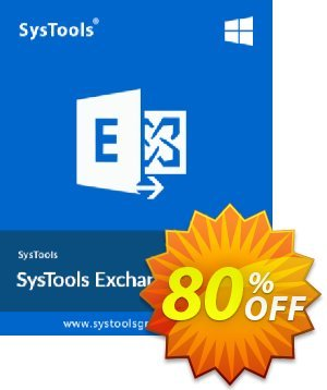 Exchange Import - 200 to 500 Users License Coupon, discount SysTools coupon 36906. Promotion: