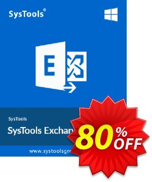 Exchange Import - 500 to 1000 Users License Coupon, discount SysTools coupon 36906. Promotion:
