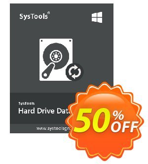 SysTools Hard Drive Data Recovery (Enterprise) 프로모션 코드 SysTools coupon 36906 프로모션: