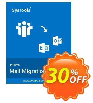 Mail Migration Wizard - Business License Coupon, discount SysTools coupon 36906. Promotion: