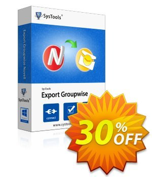 SysTools GroupWise (Business) discount coupon SysTools coupon 36906 -