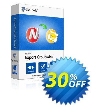 SysTools GroupWise (Enterprise) discount coupon SysTools coupon 36906 -