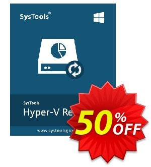 Hyper-V Recovery - Personal License Coupon, discount SysTools coupon 36906. Promotion: