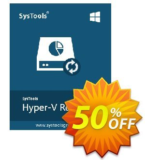 SysTools Hyper-V Recovery (Business) Coupon, discount SysTools coupon 36906. Promotion: