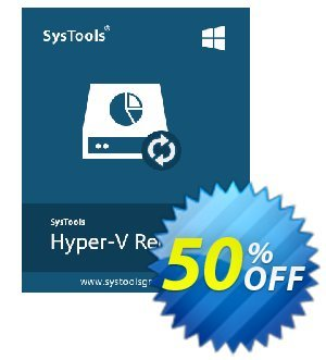 Hyper-V Recovery - Business License Coupon, discount SysTools coupon 36906. Promotion: