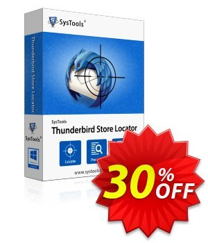 Thunderbird Store Locator - Personal License Coupon, discount SysTools coupon 36906. Promotion: