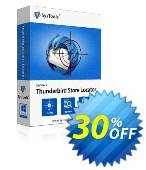 SysTools Thunderbird Store Locator (Enterprise) discount coupon SysTools coupon 36906 -