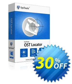 SysTools OST File Locator (Business License) 扣头