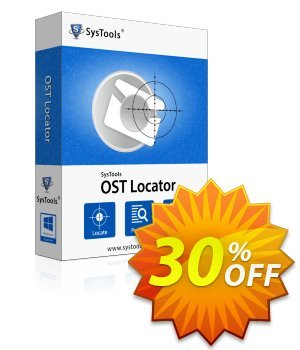 OST Locator - Enterprise License Coupon, discount SysTools coupon 36906. Promotion:
